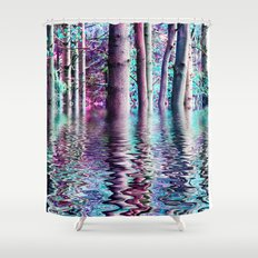 PEACE TREE-TY Shower Curtain
