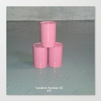 Variation Number 25 (photo) Canvas Print