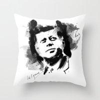 John F. Kennedy JFK Throw Pillow