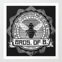 Bros. of B. Dark Art Print