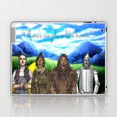 No Place Like Home Wizard Oz Art Laptop & iPad Skin