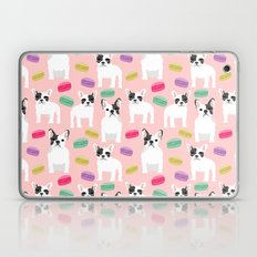 French Bulldog macaron paris cute puppy frenchie gifts for dog breed owner pet friendly custom dog Laptop & iPad Skin