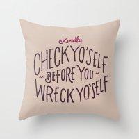 Kindly Throw Pillow
