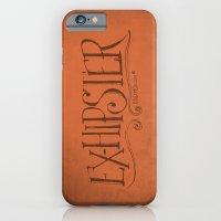 Handwriting: ExHipster iPhone 6 Slim Case
