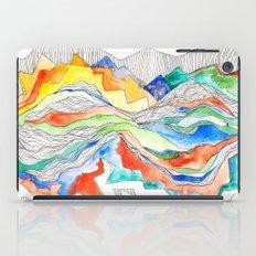 Technicolor Mountains iPad Case