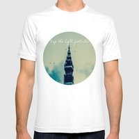 Trip The Light Fantastic… Mens Fitted Tee White SMALL