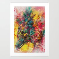 Abstract CostaRican Eagl… Art Print