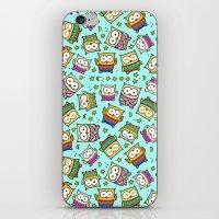 Night Owls iPhone & iPod Skin