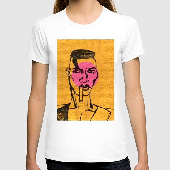 grace jones. T-shirt