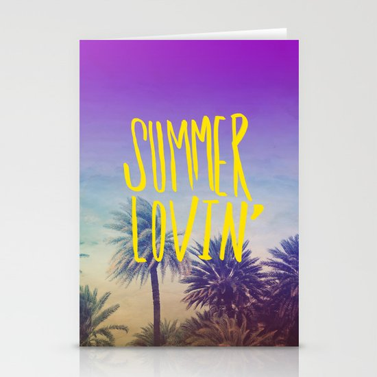 Summer Lovin' Stationery Card