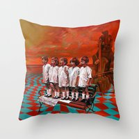 Throw Pillow featuring Sigur by Cristian Blanxer