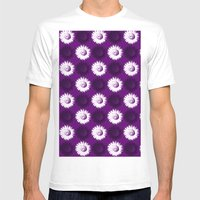 Sunflower Black, White A… Mens Fitted Tee White SMALL