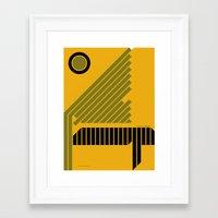 The Grid is Back poster Framed Art Print