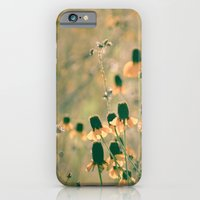 Yellow Prairie Mexican Hat Coneflower Meadow - Dreamy summer botanical iPhone 6 Slim Case
