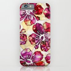 Hibiscus Flowers Slim Case iPhone 6s