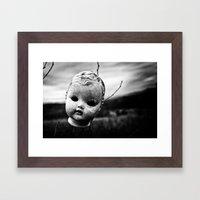 baby doll Framed Art Print