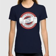 Pride Womens Fitted Tee Navy SMALL