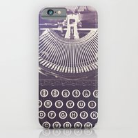 iPhone Cases featuring Typewriter by Jessica Torres Photography