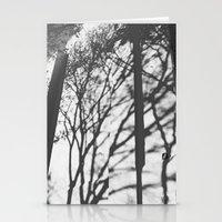 Tree Shadows - Solarized Stationery Cards