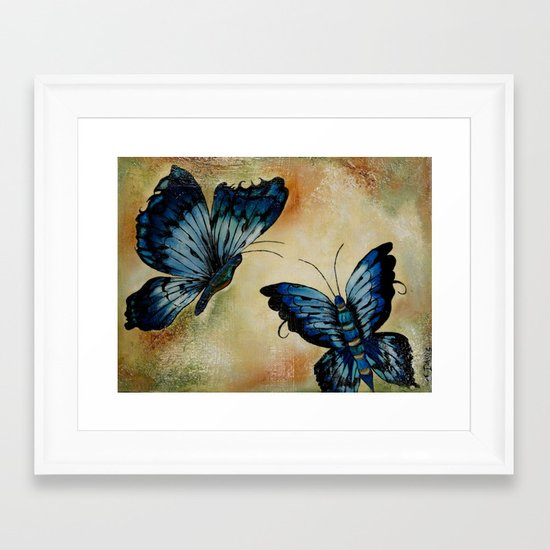 Bold But Beautiful Framed Art Print
