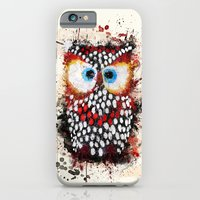 iPhone & iPod Case featuring The Owl by Msimioni