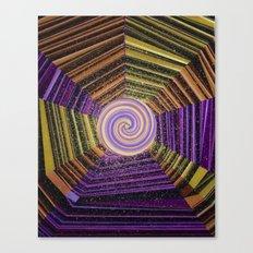 Celtic Spirals Canvas Print