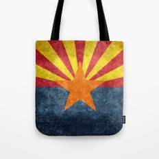 The State flag of Arizona, the 48th state! Tote Bag