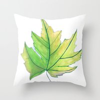 Maple Leaf  Throw Pillow