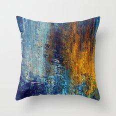 Aqua 55 Throw Pillow