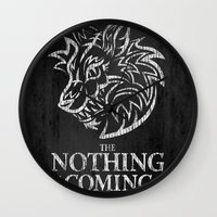 The Nothing Is Coming  Wall Clock