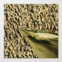 arrange -  plantation lp (backcover) Canvas Print
