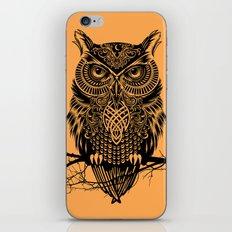 Warrior Owl 2 iPhone & iPod Skin