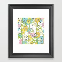 Hanging Out In The Garde… Framed Art Print