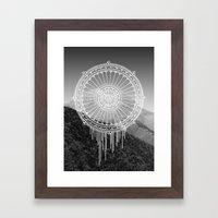 Montain Mark Framed Art Print