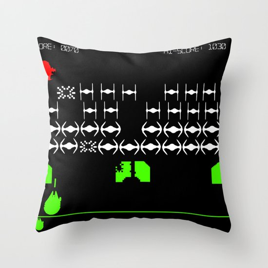 Star Wars Invaders Throw Pillow
