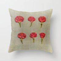 Nature petals Throw Pillow