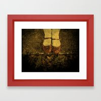 Where The Sidewalk Ends Framed Art Print