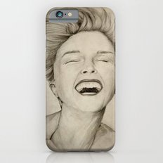 laughing girl iPhone 6s Slim Case