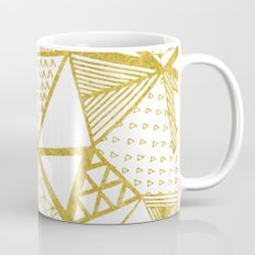 Golden Doodle triangles Mug