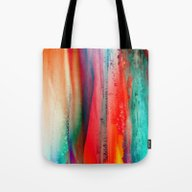 Ice Curtain Tote Bag