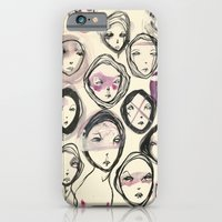 A Gathering Of Glum Girl… iPhone 6 Slim Case