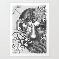 das experiment Art Print