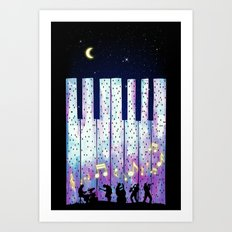 Harmony In The Night Art Print