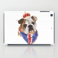 Thank you LONDON - British BULLDOG - Jubilee Art iPad Case