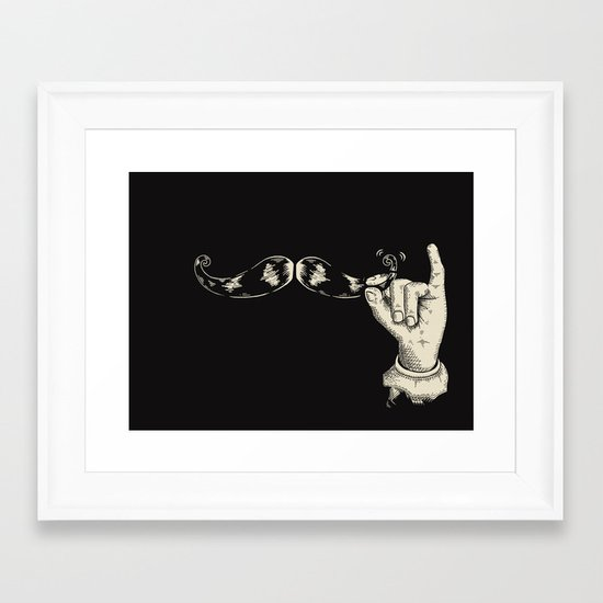 Muahahaha! Framed Art Print