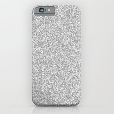 grayscale treemap mosaic iPhone 6s Slim Case
