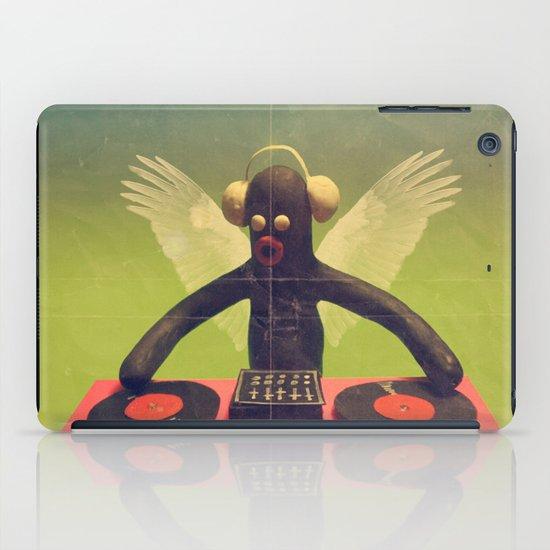 """last night a DJ saved my life"" iPad Case"