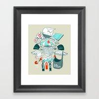Brinking Valomatics Framed Art Print
