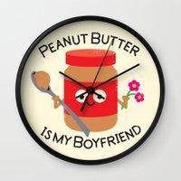 Don't Be Jelly Wall Clock
