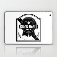 Black Death Ribbon Laptop & iPad Skin